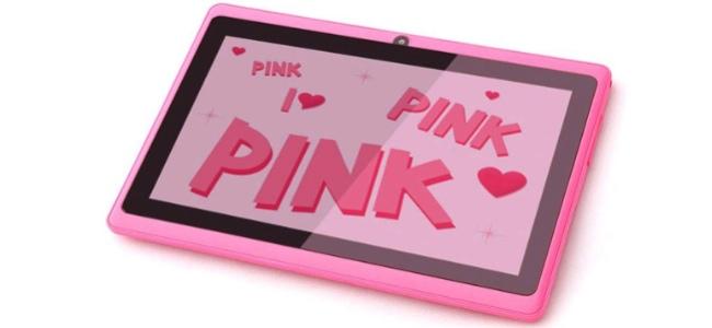 tablet rosa