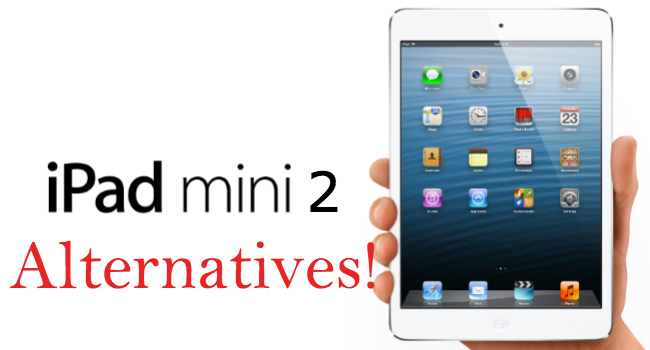 ipad mini alternativas