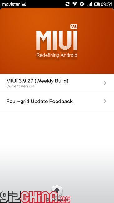 Xiaomi Mi3 MIUI