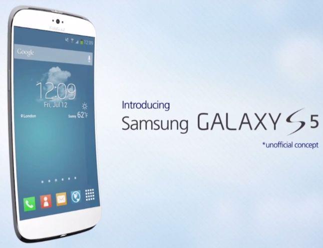Galaxy S4 concepto