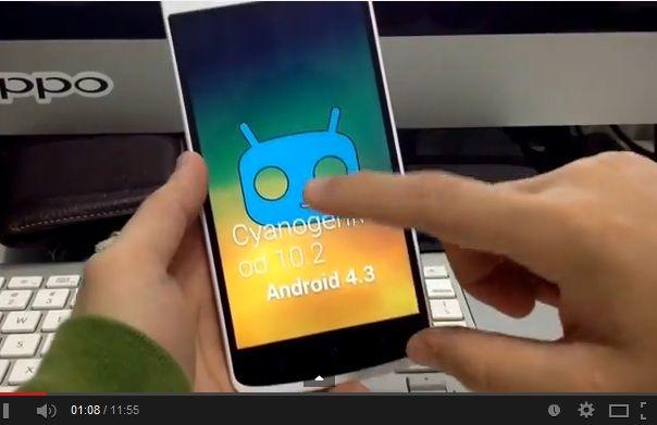 Oppo N1 CyanogenMod 10.2