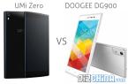 doogee-dg900-vs-umi-zero