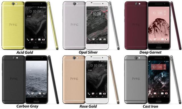 htc-one-a9-aero-colours