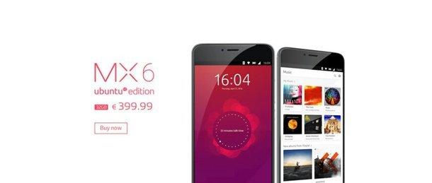 Meizu MX6 Ubuntu