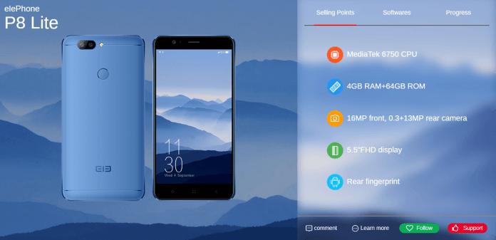 elePhone-P8-lite