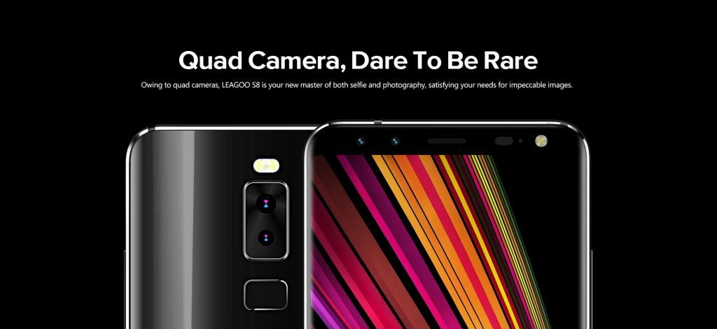 Leagoo-S8-quad-camera