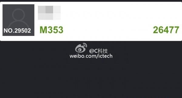 Meizu MX3 benchmars