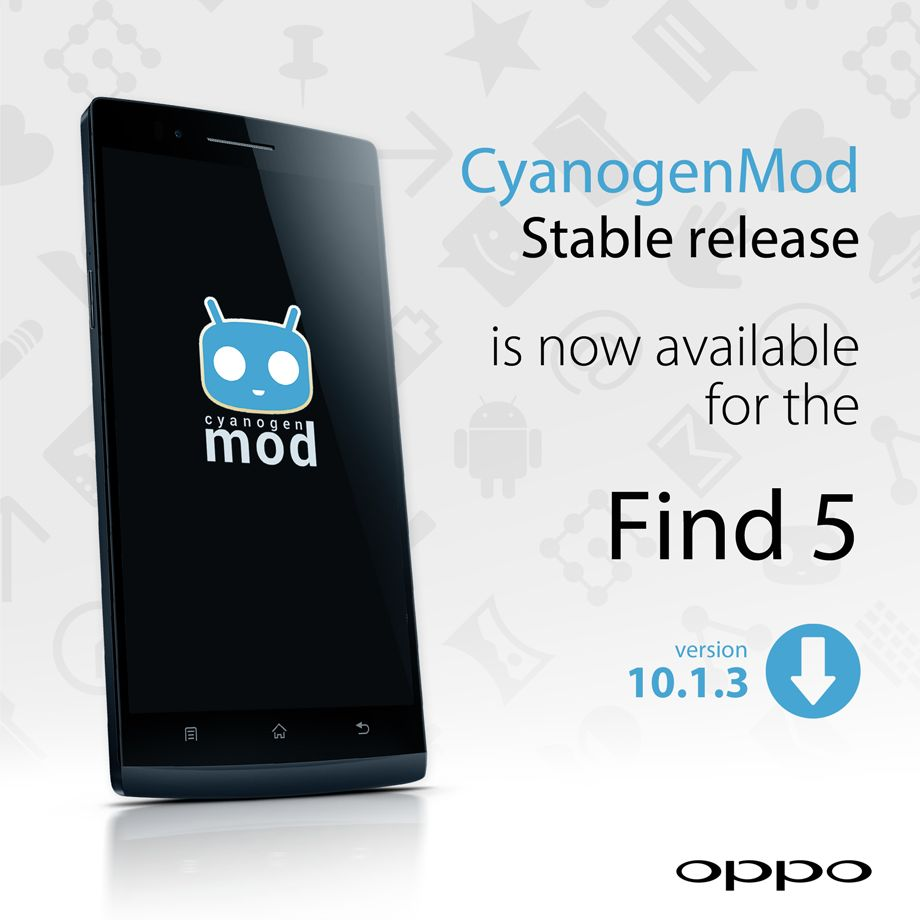 Oppo Find 5 Cyanogen