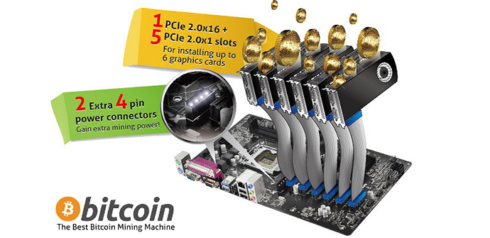 Asrock bitcoins