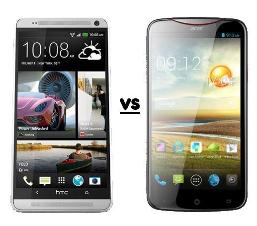 HTC vs Acer