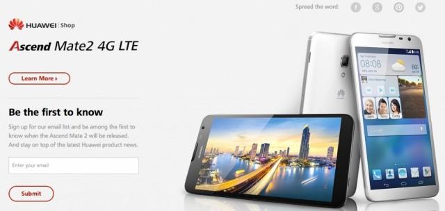 Huawei Ascend Mate 2 4G LTE
