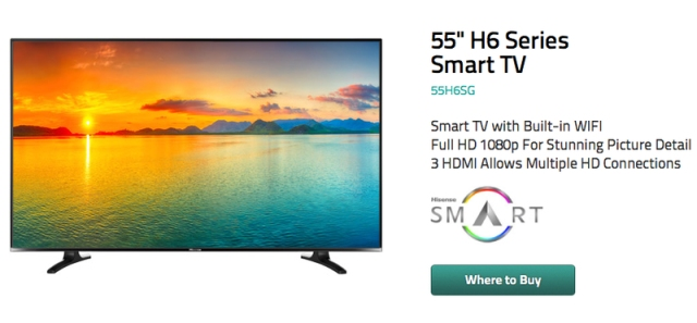H6 Smart TV