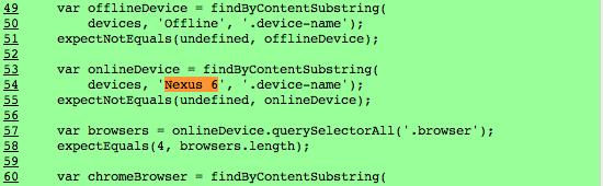 Nexus Chromium código fuente