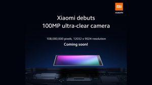 Xiaomi tiene cuatro teléfonos inteligentes con cámara de 108 megapíxeles en proceso