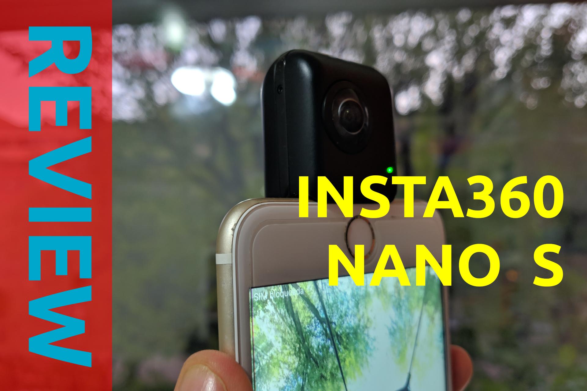 portada review insta360 nano s